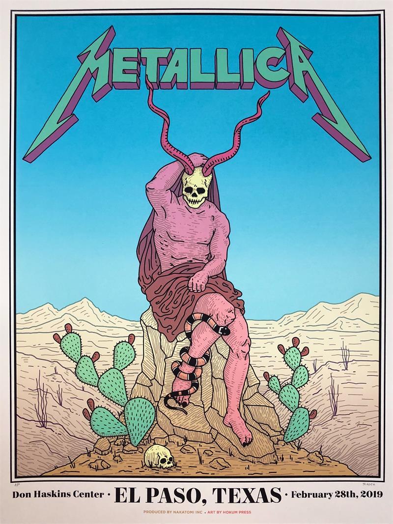 Metallica - El Paso 2019 - Skaggs